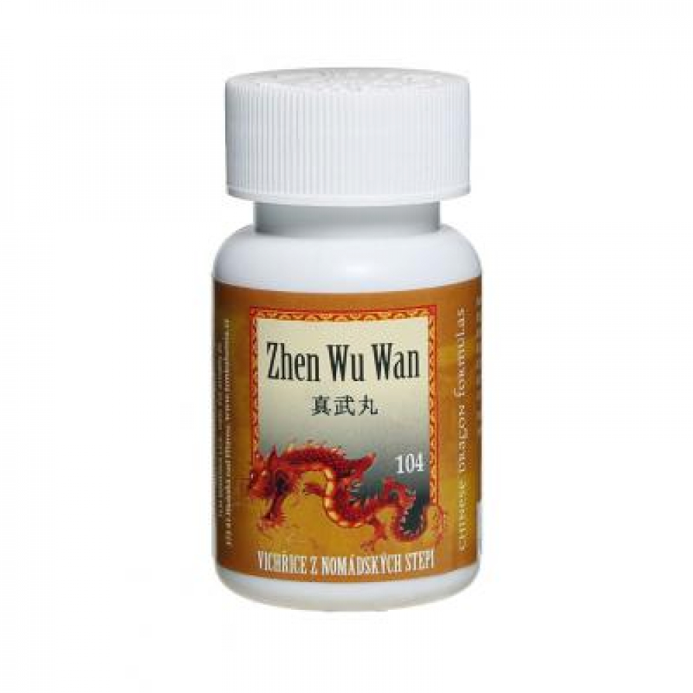 TCM Víchrica z nomádskych stepí (Zhen Wu Wan 104) 200 guličiek