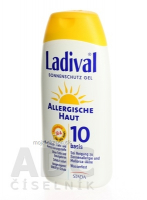 LADIVAL Allerg OF 10 gel 200 ml
