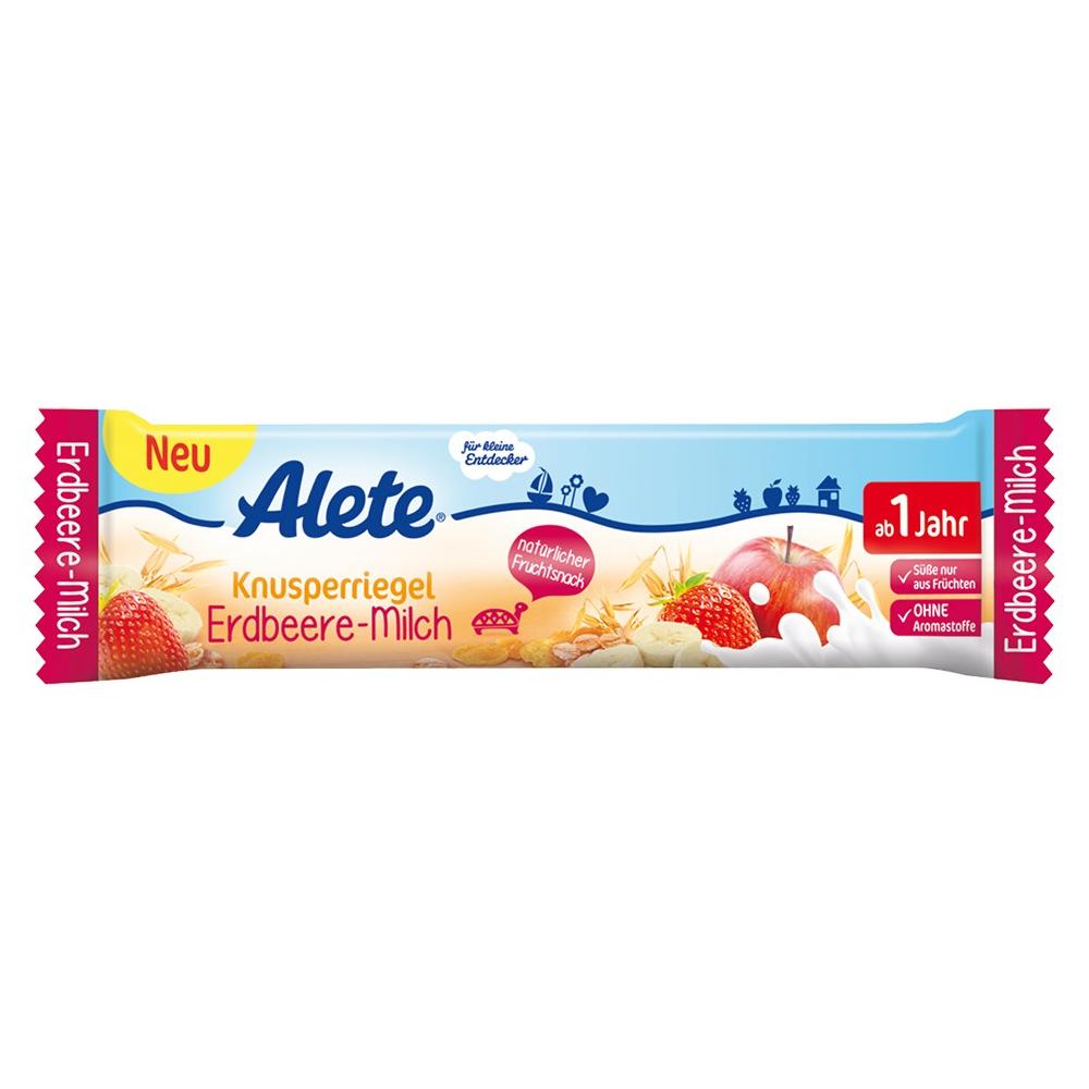 ALETE Tyčinka Jahodovo-mliečna 25 g