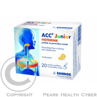 ACC JUNIOR HOTDRINK 20x200 mg