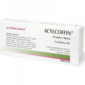 ACYLCOFFIN 10 tabliet