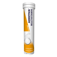 NATURPRODUKT Additiva multivitamín orange 20 šumivých tabliet