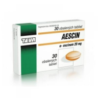 AESCIN 20 mg 30 tabliet