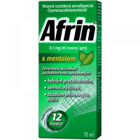 AFRIN® 0,5 mg / ml nosový sprej s mentolom 15 ml