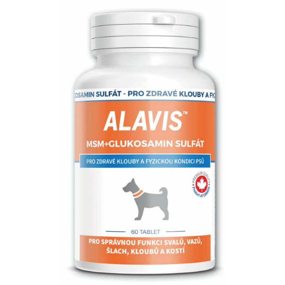 Alavis MSM + Glukosamín sulfát pre psy tbl. 60