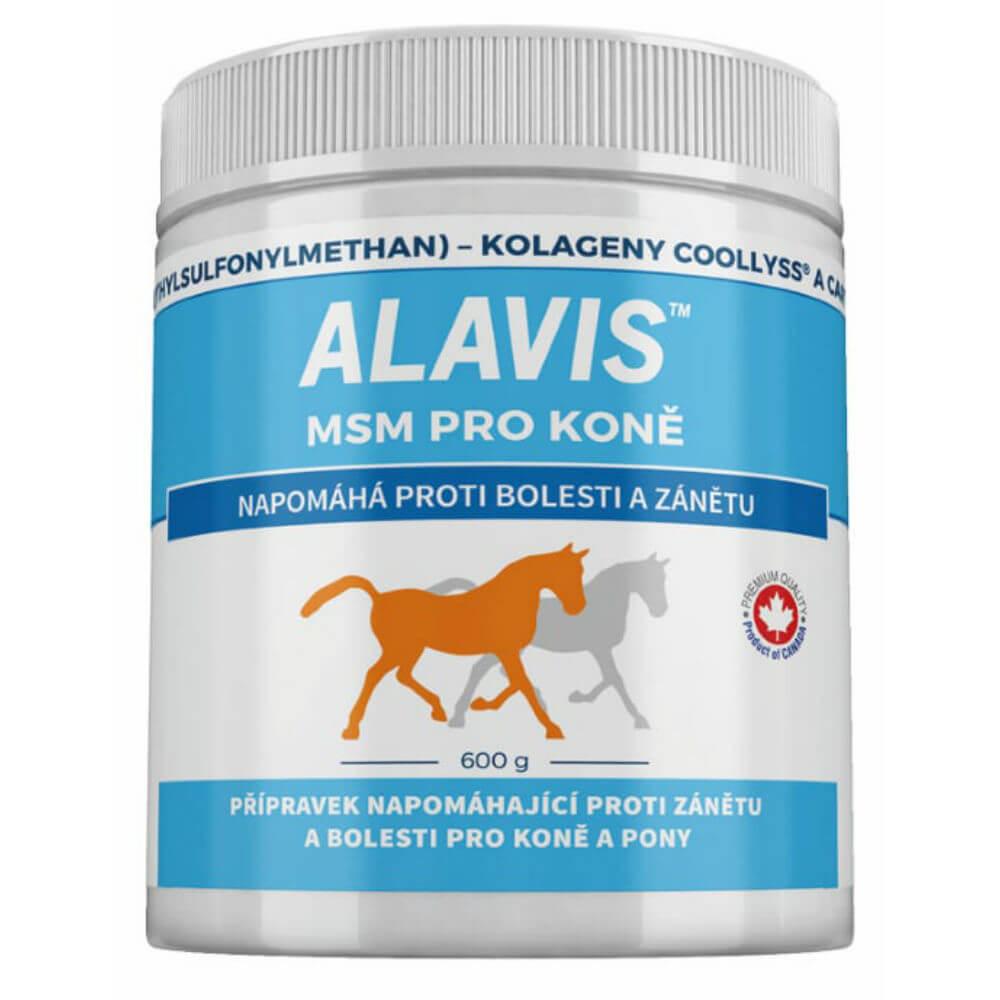 Alavis MSM pre kone a poníky plv. 600 g