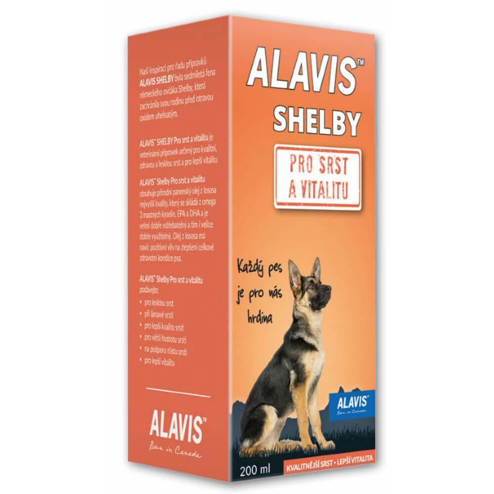 ALAVIS SHELBY pre Srsť 200 ml