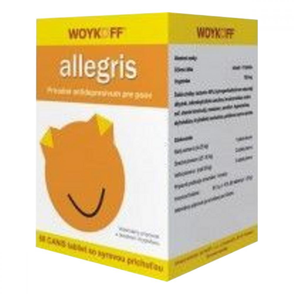 Allegris CANIS (surová príchuť) tbl.60