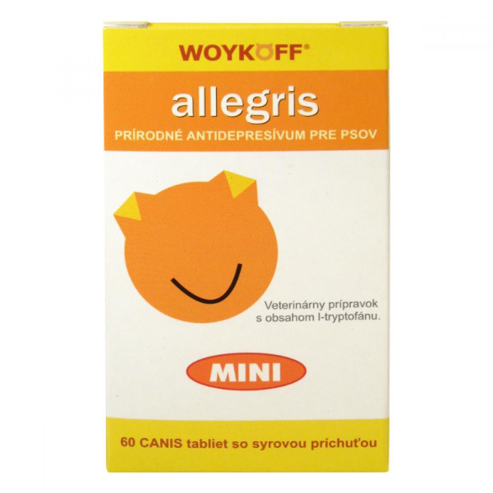 Allegris MINI antidepresívum pre psov 60tbl