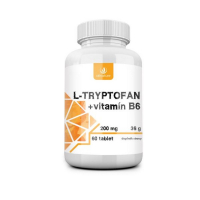 ALLNATURE L-tryptofan 200 mg/2,5 mg vitamín B6 60 tabliet