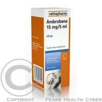 AMBROBENE SIR 100ML 15MG/5ML
