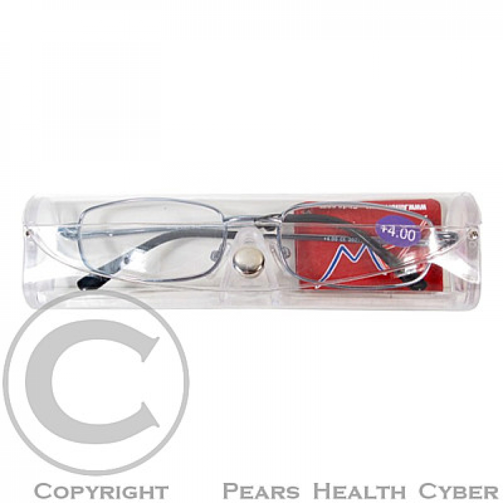 American Way Dioptrické okuliare čtecí +1.50 modré + pouzdro