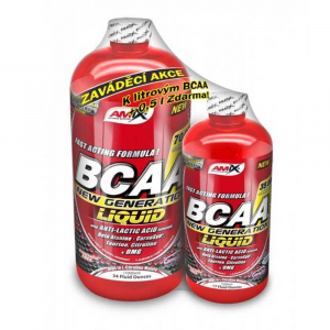 AMIX BCAA New Generation 1000 ml + 500 ml lemon-lime