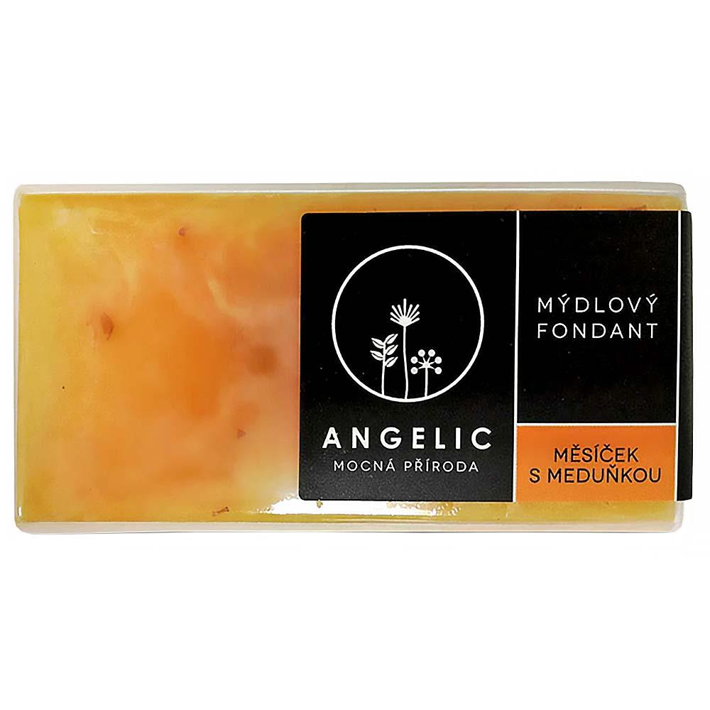 ANGELIC Mydlový fondán Nechtík s medovkou 200 g