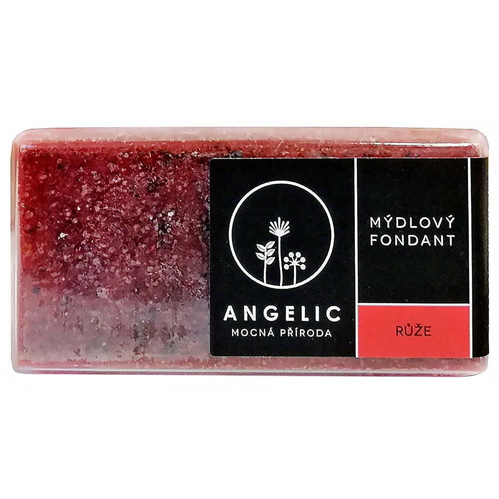 ANGELIC Mydlový fondán Ruža 200 g