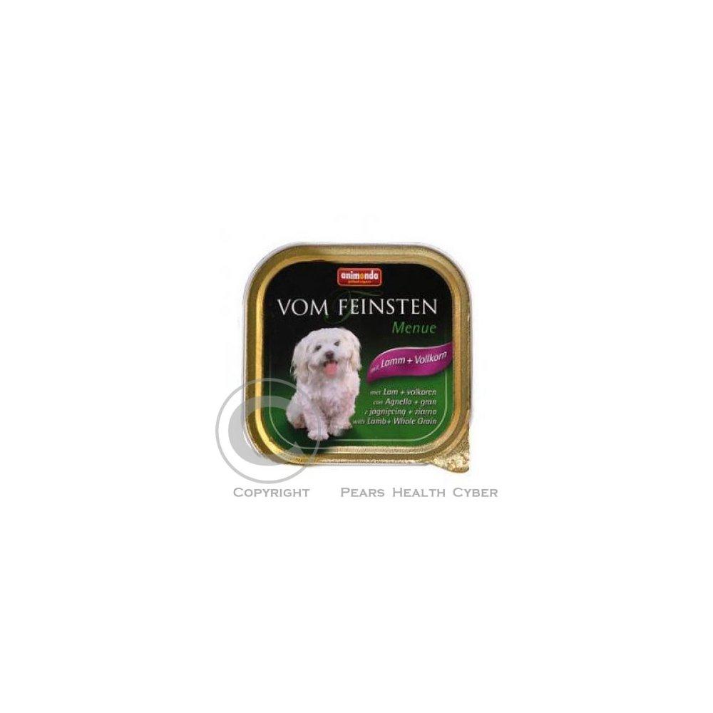 Animonda paštéta Menue jahňacie / obilniny pes 150g