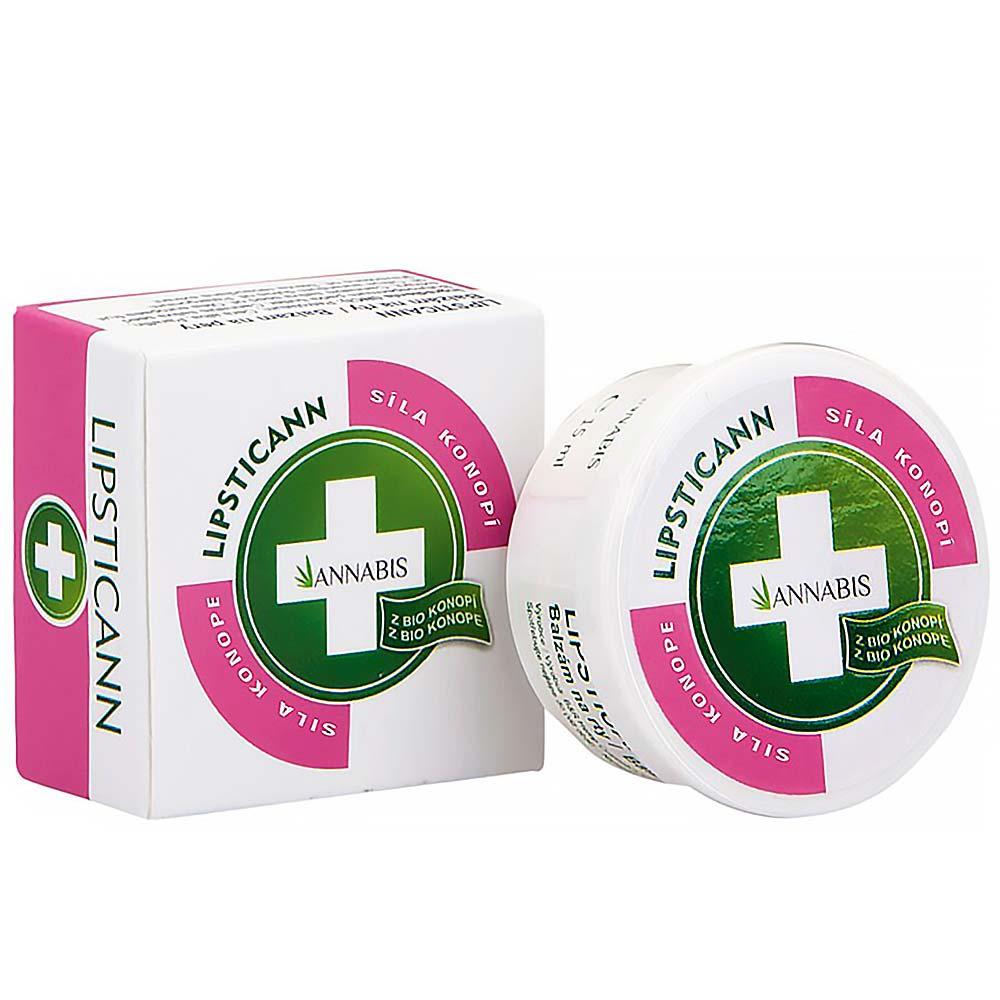 Lipsticann konopný balzam na pery 15 ml