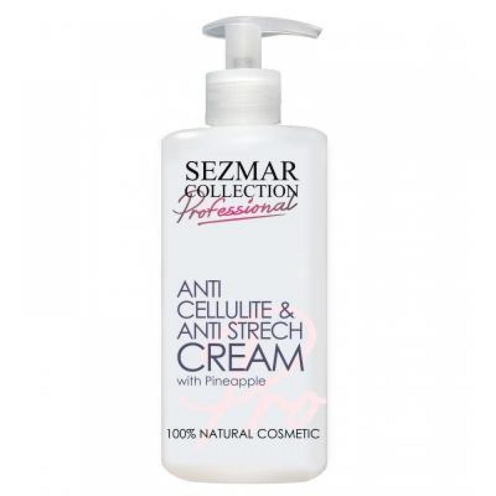 Sezmar Profesional Anticellulite & Anti Strech cream s ananasem 500ml