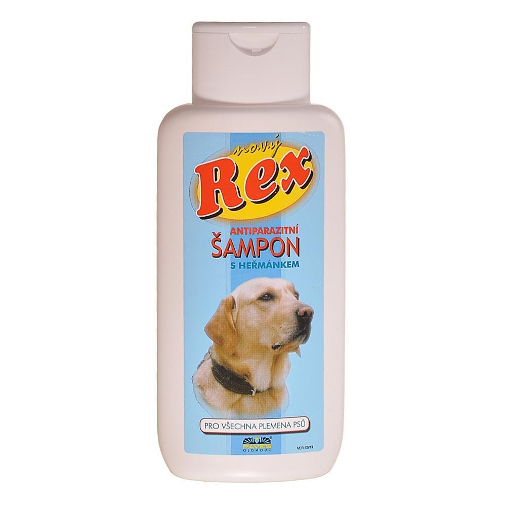 REX Antiparazitný šampón s harmančekom pre psov 250 ml