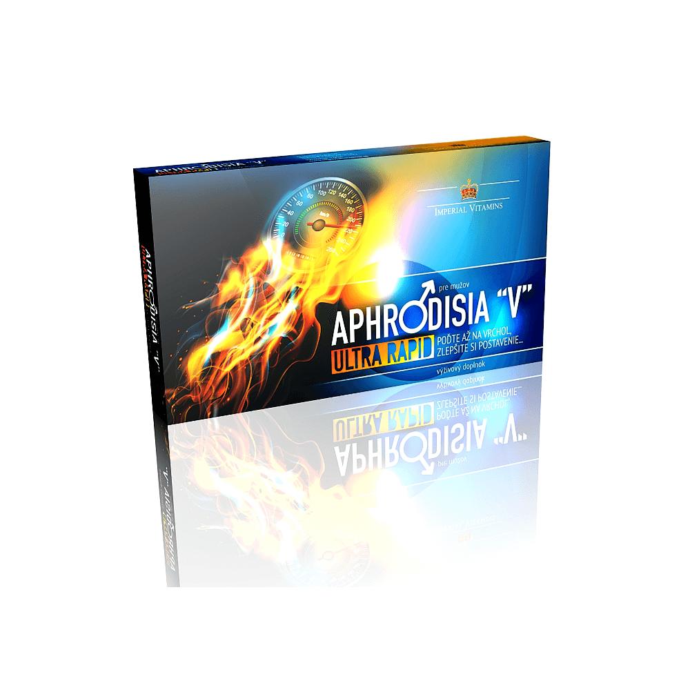 """APHRODISIA """"V"""" Ultra Rapid pre mužov cps 1x10 ks"""
