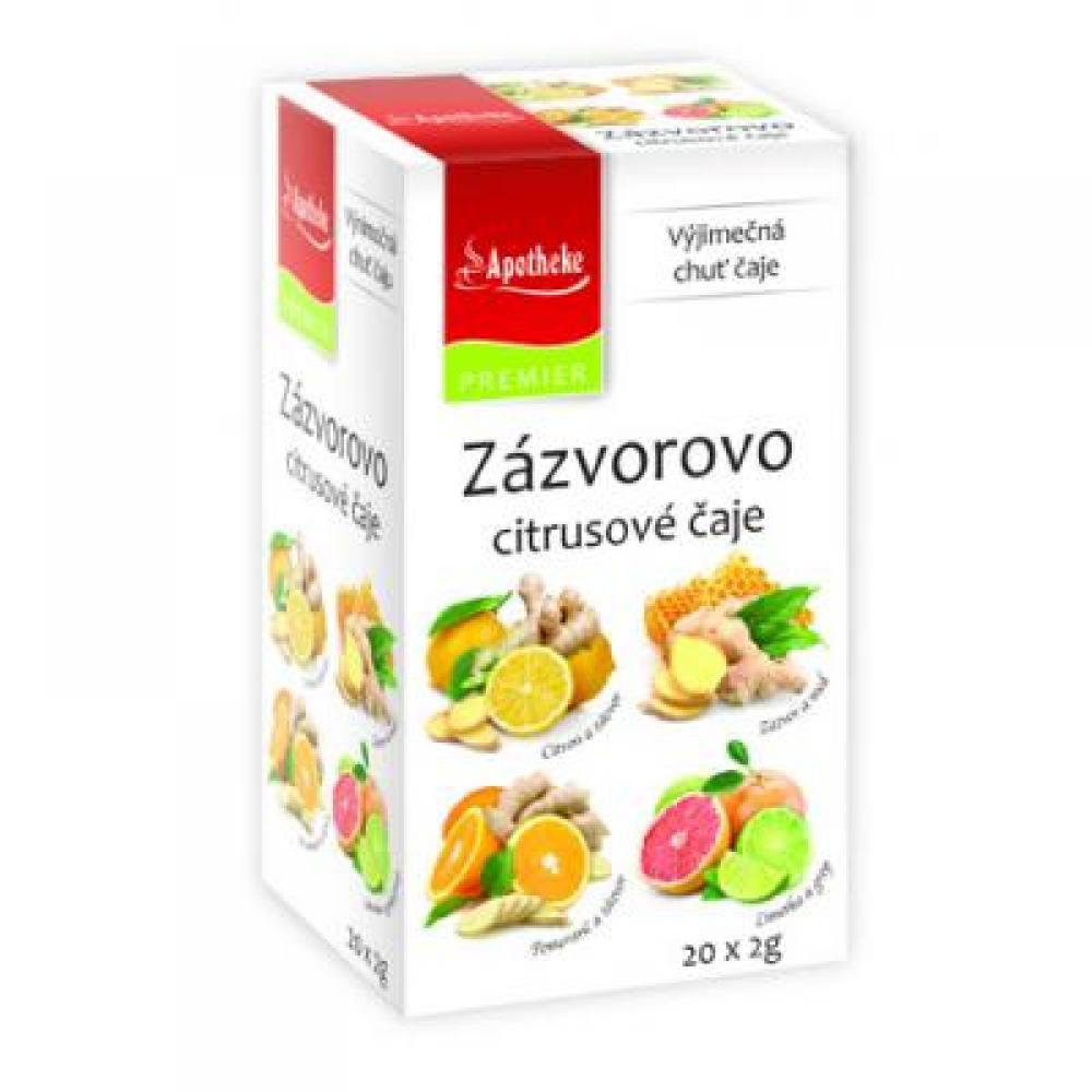 APOTHEKE Zázvorovo citrusové čaje 20x2 g