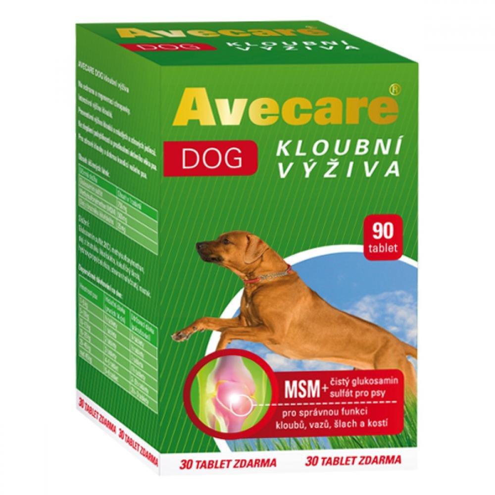 AVECARE DOG kĺbová výživa psi Glukos.90 tbl.