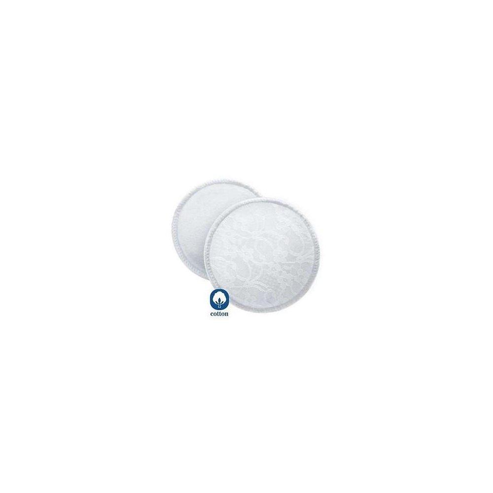 1527df536 PHILIPS AVENT Absorpčné vložky bavlnené pracie 6 kusov - MojaLekáreň.sk