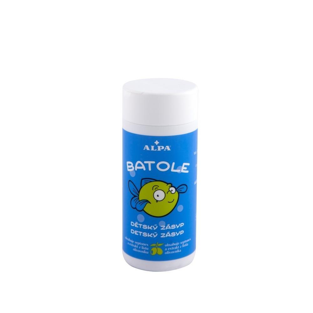 BATOLE Detský zásyp s extraktom olivovníka a sypačka 100g