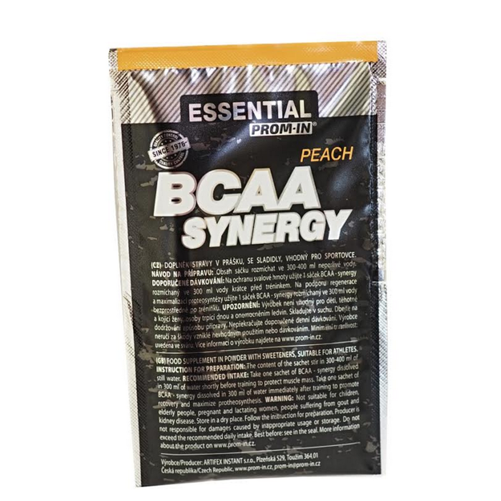 PROM-IN Essential BCAA synergy broskyňa 11 g