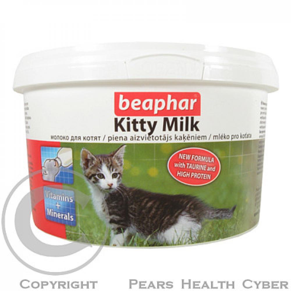 Beaphar mlieko kŕmnej Kitty Milk mačka plv 200g