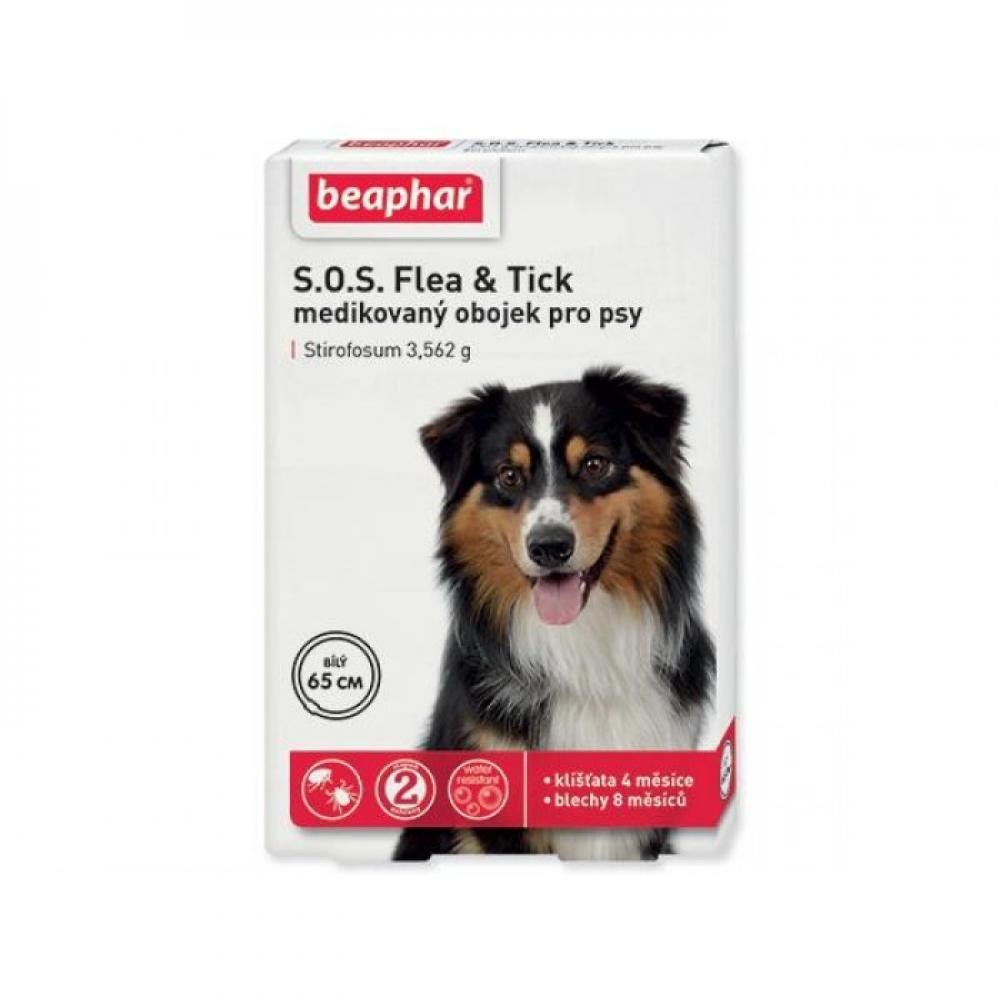 Beaphar Obojok antiparazitný pes SOS Flea & Tick 70 cm 1ks