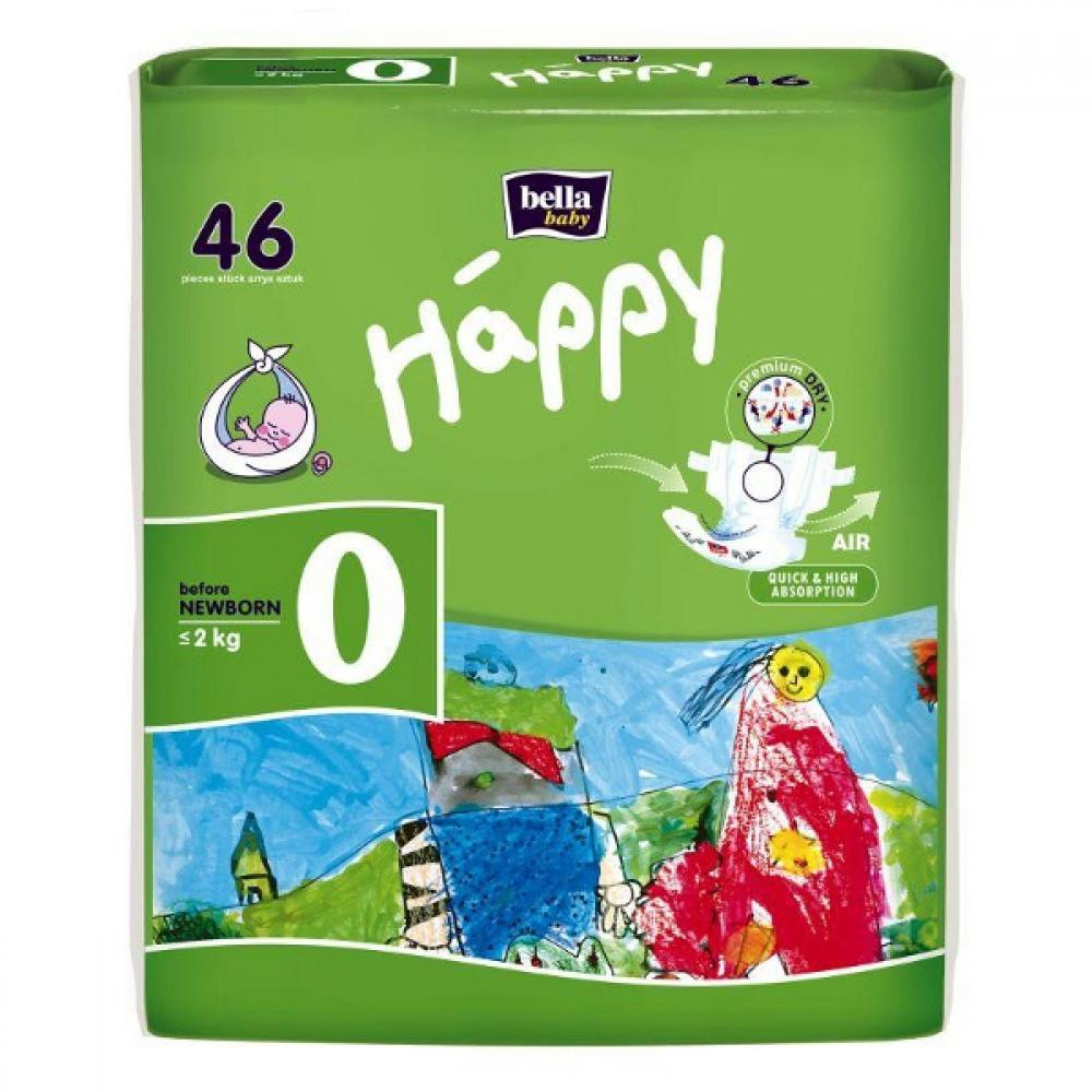 HAPPY NEW BORN PLIENKY 0-2 KG 46KS 502