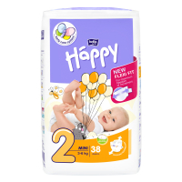 HAPPY MINI PLIENKY 3-6 KG 38 KS-5024