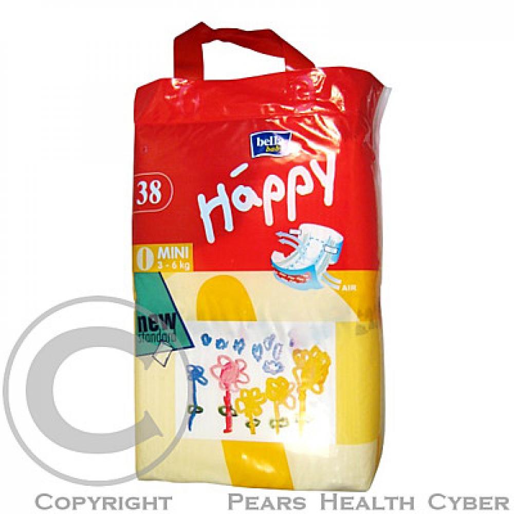 HAPPY MINI PLIENKY 3-6 KG 38 KS-5024