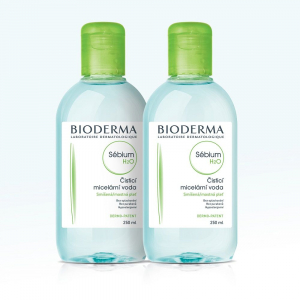 BIODERMA Sébium H2O 2x250 ml
