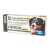 Bioveta Fipron 402 mg Spot-On Dog XL sol 1 x 4,02 ml