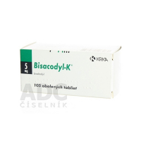 BISACODYL-K 5 mg 105 tabliet