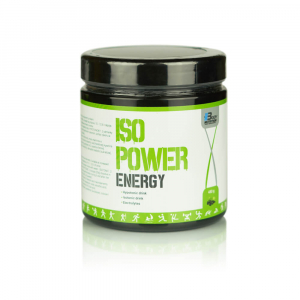BODY NUTRITION ISO POWER energy + elektrolyty citrón 480 g