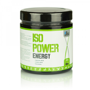 BODY NUTRITION ISO POWER energy + elektrolyty pomaranč 480 g
