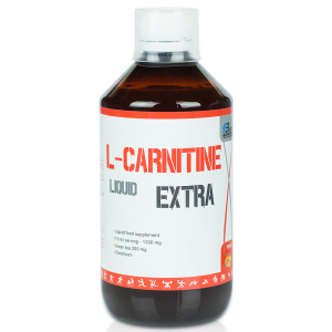 BODY NUTRITION L-Carnitine liquid EXTRA - chróm + extrakt zeleného čaju mix fruit 500 ml