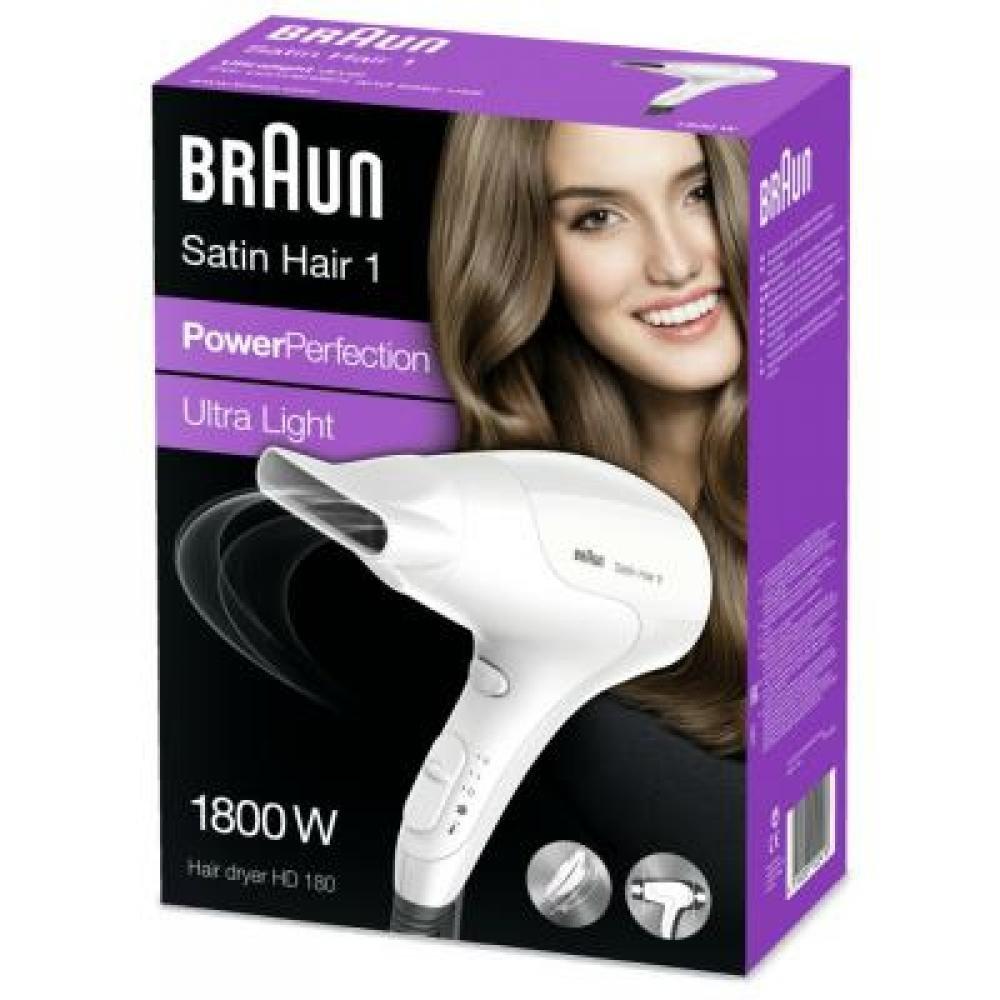 BRAUN sušič vlasov HD180