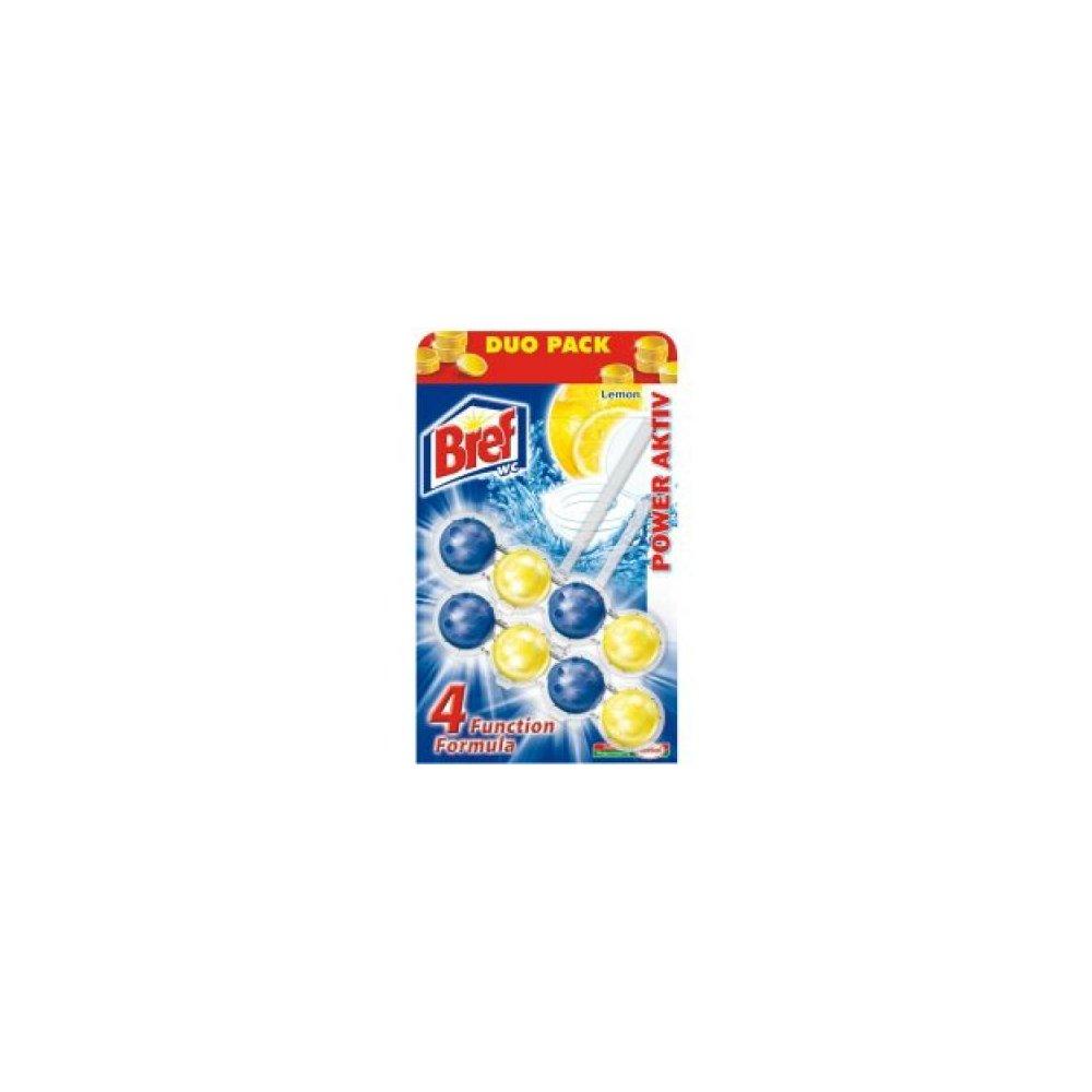 BREF Power Activ WC blok Lemon 2x51 g