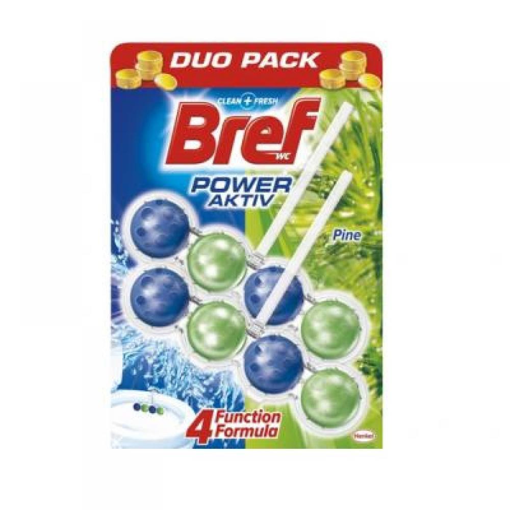 BREF Power Activ WC blok Pine 2x51 g