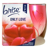 BRISE sviečka 120 g only love