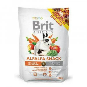 Brit Animals  Alfalfa Snack for Rodents 100g