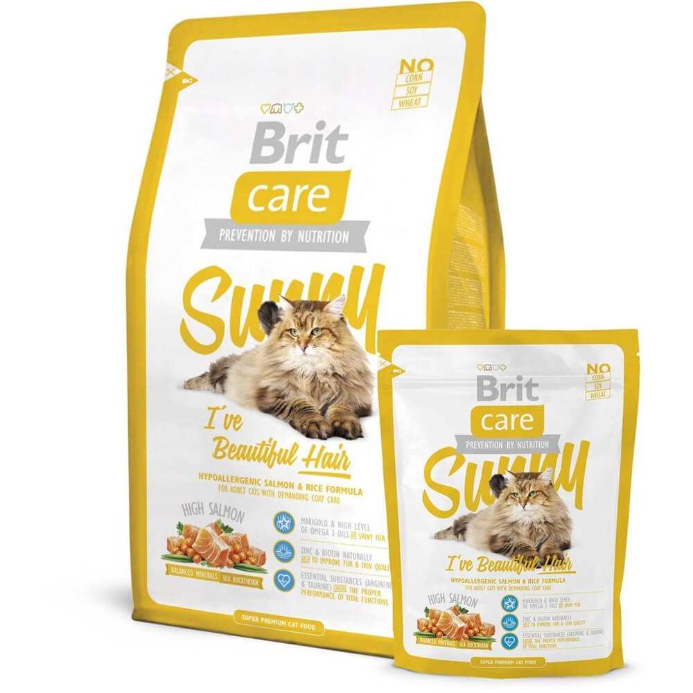 Brit Care Cat Sunny I´ve Beautiful Hair 400g