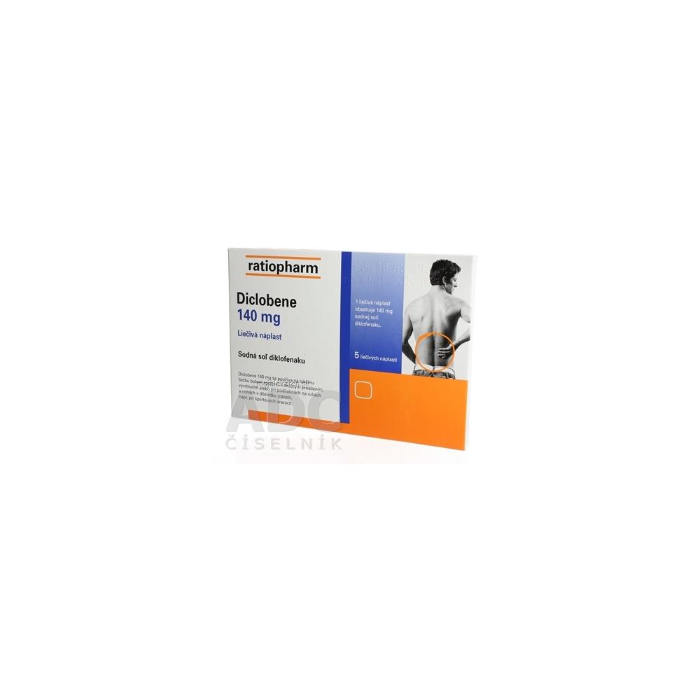 Diclobene 140 mg emp med 1x5 ks