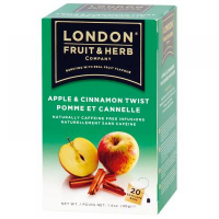LONDON FRUIT & HERB Čaj Twist Jablko so škoricou 20 x 2 g
