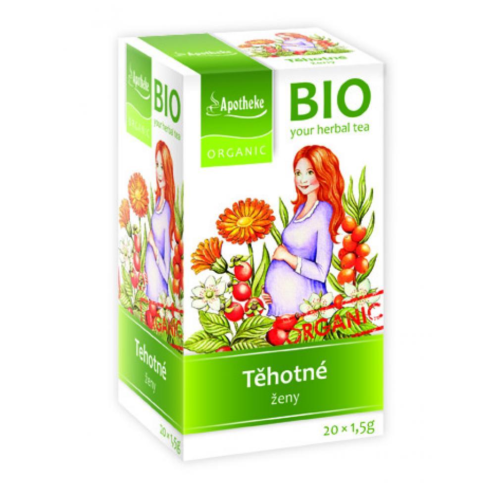 APOTHEKE Čaj pre tehotné ženy nálevové sáčky BIO 20x1.5g