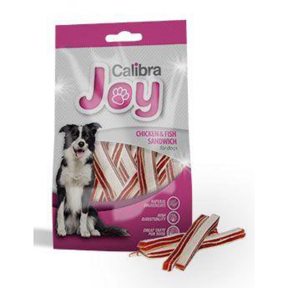 CALIBRA Joy Dog Chicken & Fish Sandwich 80 g